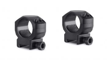 Hawke Tactical Mounts 30mm 2pc Weaver/Picatinny MEDIUM Scope Mount Rings 24116